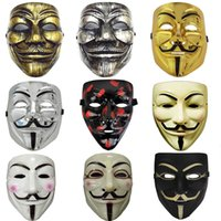 Party Cos Masks V for Vendetta Adult Mask Anonymous Guy Fawk...