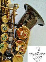 Brand Yanagisawa S-991 Brand curvi Soprano Saxophone Bbtune Music Strument Nichel Placcato Golden Key di alta qualità con il boccaglio gratuito