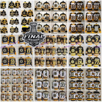 2019 Stanley Cup Boston Bruins 33 Zdeno Chara 37 Patrice Ber...