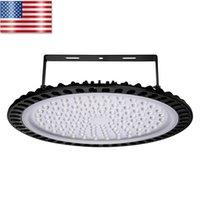 Helle LED-Leuchten UFO LED Wärmeableitung 40000LM ultra dünne Hoch Schuppen Lampe Große Wohnzimmer Supermarkt USA-Lager Kostenloser Versand