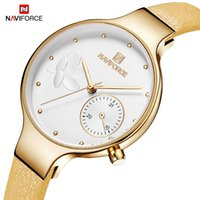 Women  Watches Original NAVIFORCE  Fashion Quartz Ladies Rhinestone Watch Dress Wrist Watch Clock