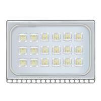 100W LED ضوء الفيضانات الاستشعار للماء IP65 في الهواء الطلق ضوء 110-120V بارد الأبيض بقيادة مصباح العارض المنزل والحديقة الفرعية خارج بلكونة Lampz