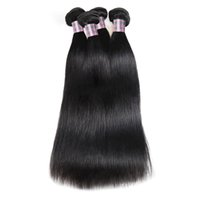 Ishow Deep Loose Brasilian Body Wave Hair Extensions Peruvian Human Hair Buntar Vatten Curly Weave Weft för kvinnor Alla Ages Natural Color 8-28INCH
