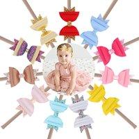 귀여운 새로운 디자이너 아기 머리띠 장식 조각은 여자 머리띠 유아 헤어 어린이 헤어 액세서리 헤드 밴드 아기 선물 A2556 스틱 활