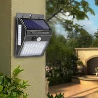 100 LED-Solarlicht im Freien Solar-Lampen-PIR Bewegungs-Sensor-Wand-Licht Wasserdichtes Solar Powered Sonnenlicht für Garten-Dekoration