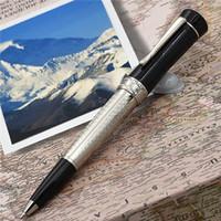 penna marchio penna di lusso lucky star della serie Design unico roller / Penna a sfera fatta di regalo rifornimento alto grado di resina bianca ufficio scuola