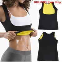 UPS Ücretsiz Gemi Neopren Vücut Şekillendirici Yağ Yakıcı Zayıflama Bel Trainer Karın Göbek Kuşak Bel cincher Korse Kadınlar Shapewear Vest Sweat