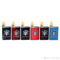 Demon Killer Kit Box minúscula com minúsculo ecrã LED RDA 800mAh bateria minúscula Vape Kit Resina PEI metal de alta qualidade Original Authentic DHL 100%