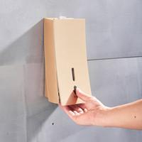 Champaign Gold-Wandhalterung Seifenspender Flüssige Shampoo Dusche Container Schwarz Weiß Seifenhalter für Badezimmer Washroom