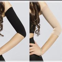 2 colori di dimagramento di compressione Arm Shaper che dimagrisce cinghia del braccio contribuisce a definire tono Forma superiore Arms manica Taping Massaggio per le B