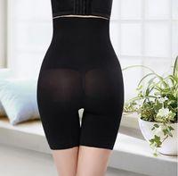 La ropa más el tamaño de la cintura de las mujeres ocasionales Hight Apparel Shapers sólido diseñador de control del color de las bragas de manera femenino