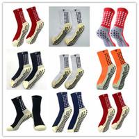 Orden de mezcla 2021/22 Venta de calcetines de fútbol antideslizante TRUSOX Calcetines Calcetines de fútbol para hombre Calcetines de algodón de calidad con trusox