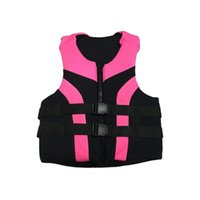 Men Women Life Jacket Floating Row Buoyancy Vest Fishing Swi...