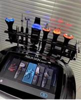 2020 Yeni Güzellik Salonu Ekipmanları varış, yüksek kaliteli çok işlevli cilt bakımı yüz derin temizlik aqua cilt makinesi