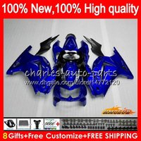 Body For KAWASAKI ZX- 250R glossy blue new EX- 250 EX250R 08 0...