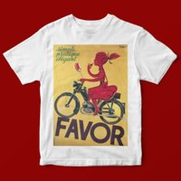BICYCLE GIRL FAVOR T- SHIRT UNISEX 1022 Print Short Sleeve T ...