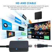 HDTV هوائي مكبر للصوت إشارة الداعم الرقمية للتلفزيون الكابل فوكس HD قناة 25DB