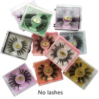 Square eyelash packaging False Eyelash Packaging Box 3D Lash...