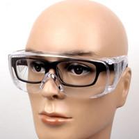 1 PC Protection Eye trabalho ao ar livre Óculos Limpar Protective Segurança Anti-fog Goggles Óculos Poeira Goggles para todas as pessoas