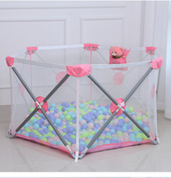 Children Home Foldable Safety Baby Play Fence Baby Indoor Ga...