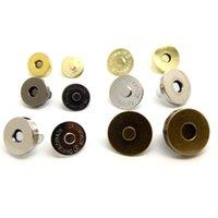 3set 18mm 4 Farben Pick-Metall starke magnetische Druckknöpfe Verschlüsse Knöpfe für Handtasche Geldbeutel Geldbeutel-Beutel-Teile Zubehör
