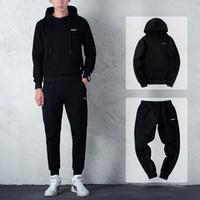 Весна новый мужской движение кусок прилив Корейский досуг хеджирование свитер с капюшоном костюм мужской спортивной одежды