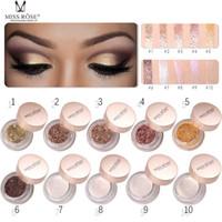 MISS ROSE Палитра теней для век Diamond Shimmer Блеск для волос Палитра теней для век Блестящие блестки Eyeshadow Beauty Косметический макияж