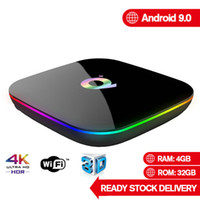 Q Plus Android 9.0 TV Box Allwinner H6 Quad Core 4GB 32GB TV Box Support PK TX6 X96 Mini Smart TV BOX