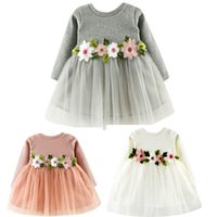 3 Color Summer Girls Dress Cute Toddler Baby Girl Solid Flor...