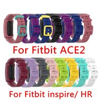 Silikon armband armband für fitbit inspirieren / inspirieren hr fitbit ace 2 ace2 tracker smartwatch ersatz uhrenarmband armband