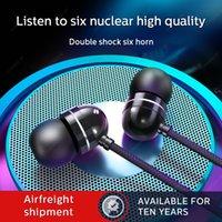 Adatto per auricolari da 3,5 mm di alta qualità per iPhone cuffie 6 S6 S7 S8 cuffia cuffie di alta qualità in-ear con volume del microfono c