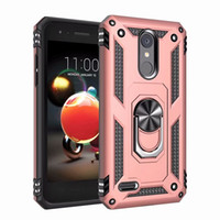 Per LG Aristo 2 Case Stand Cool Rugged Combo Hybrid Armor Bracket Impact Holster Cover protettiva per LG Aristo 3/2
