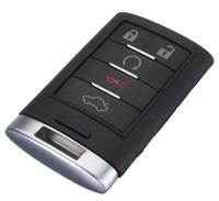 Высокое качество ключа автомобиля чехол для Cadillac smart remote key shell дистанционного крышка 4 или 5 buttton