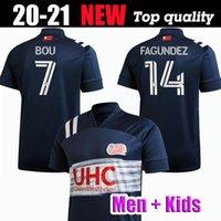 2020 2021 de futebol MLS azul Revolução jerseys BOU Buksa GIL fagundez Penilla Bunbury 20 21 camisas de futebol