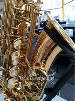 JUPITER JAS1167 Hohe Qualität Alto EB Messing Saxophon Goldlack Saxing Performance Musikinstrument mit Fallzubehör Mundstück