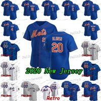 20 Pete Alonso 2020 Nouveau 22 Rick Porcello Luis Guillorme Nimmo Jed Lowrie Tomas Rosario Dominic Amed nido Smith Marcus Stroman Jersey