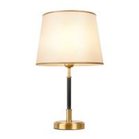 Новый американский ретро медь стол освещение декоративный стол зажигает роскошный отель Вилла настольные лампы спальни кабинет прикроватные настольные лампы