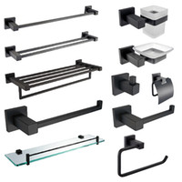 Bathroom Accessories Towel Rack SUS304 Stainless Steel Bath ...