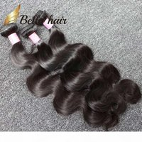 4pcs Lot Indian Hair Extension Natural Color Body Wave Wavy ...