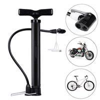 Taşınabilir Mini bisiklet pompası 120 / 160PSI Dikili bisiklet lastiği Pompa Basketbol Pompa Motosiklet Lastik El Şişirme Bisiklet Aracı