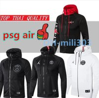 2019 2020 Jordam X PSG Fußballjacke Trainingsanzug Champions League Survêtement 18 19 20 Paris MBAPPE Air Jordan Fußballjacke Trainingsanzug