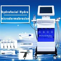 SPA18 5 في 1 hydrodermabrasion هيدرا الحيوي الوجه مكركرنت الأكسجين رش الصمام العلاج علاج حب الشباب الجلد ومنتجع صحي معدات تجديد الخفيفة