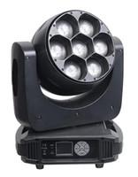 좋은 품질 7 * 40W 4IN1 RGBW ZOOM LED 무빙 헤드 라이트 사용을위한 웨딩 파티 모바일 이벤트 ETC