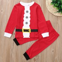 good quality 2PCS Christmas Clothing Children Kids Clothes S...