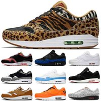 Top Quality 2020 New Running Shoes Mens Womens Max 1 White esquemática animal de carga Brown Centro Pompidou Trainers Designer Sneakers 36-45