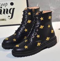 أحدث التمهيد الصحراء مارتن الأحذية النسائية شتائية لمدة 5-8 أحذية الشتاء أزياء المرأة 100٪ حجم حقيقي جلدي أعلى جودة الولايات المتحدة