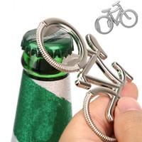 Велосипед Металл Открывалка Для Бутылок Пива Брелок Урожай Велосипед Цинковый Сплав Брелок для любителей велосипедов Свадьба Партии Подарки