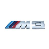 Bmw m E46 E30 E34 E36 E39 E53 E60 E90 F10 F30 M3 M5 M6 için 20pcs Motorsport Metal Logo Araç plakası Bagaj Amblem Izgara Rozet