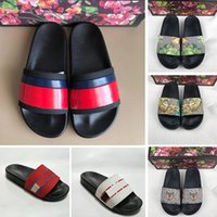 New Arrival Women Designer Slides Summer Outdoor Floral broc...
