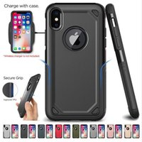 Military Shockproof Armor Phone Case For iPhone X XS Max XR ...